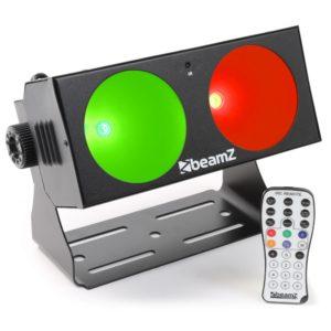 Beamz LUCID1.2 COB 2X10W LED IRC DMX