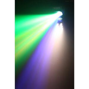 Beamz SCAN200ST STROBE 5X3W RGBAW 6 DMX IRC