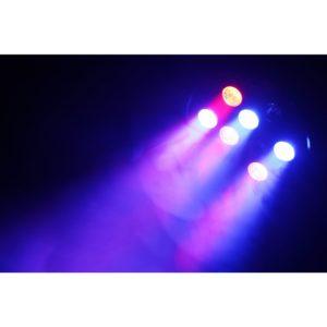 Beamz LED PAR 36 SPOT 9x 1W RGB LEDS DMX