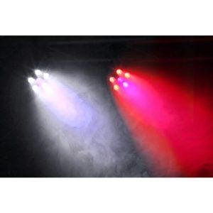 Beamz BFP110 LED PAR 56 FLATPAR 5x 6W RGB   1x 6W UV LEDs DMX IRC