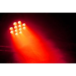Beamz BT310 LED FLATPAR 12X6W 4-1 RGBA DMX IRC