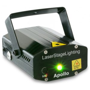 Beamz APOLLO MULTIPOINT LASER - RED/GREEN 170MW