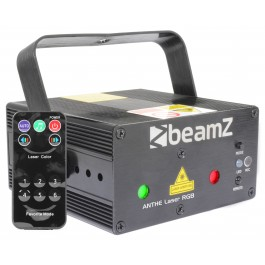 Beamz ANTHE LASER RGB 600MW WITH REMOTE