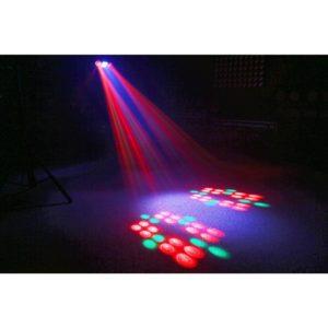 Beamz URANUS LED DOUBLE MOON 2X3W   STROBE