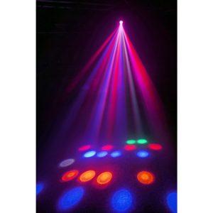 Beamz CUBE4 2X 10W QUAD LED   64 RGB LEDS DMX IR