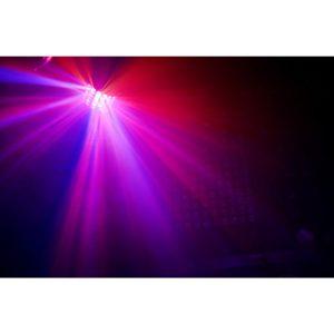 Beamz LED RADICAL 6X3W RGBAWP LASER RG,DMX, IRC