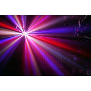 Beamz LED 24 BUTTERFLY II 6X3W RGBAWP IRC