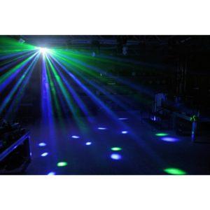 Beamz LED BUTTERFLY WITH STROBE 3X3W RGB