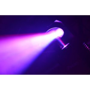 Beamz LED WILDFLOWER SCANNER 1X 10W RGBW LED WITH GOBO