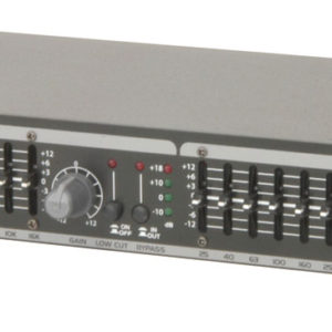 Citronic CEQ215 DUAL 15-BAND GRAPHIC EQ