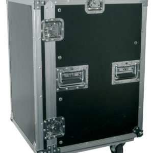 Citronic 19in EQUIPMENT RACK CASE WITH WHEELS 16U