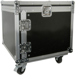 Citronic 19in EQUIPMENT RACK CASE WITH WHEELS 8U