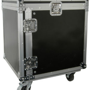 Citronic 19in EQUIPMENT RACK CASE WITH WHEELS 10U