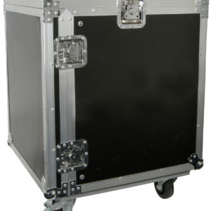 Citronic 19in EQUIPMENT RACK CASE WITH WHEELS 12U