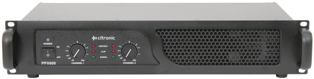 Citronic PPX600 2U 19in POWER AMPLIFIER