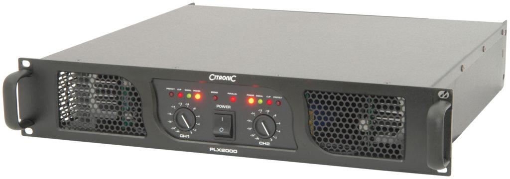 Citronic PLX2000 POWER AMPLIFIER 2000W