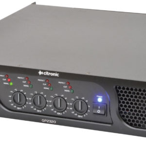 Citronic QP2320 QUAD POWER AMPLIFIER 4 x 580W