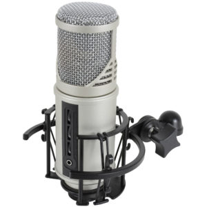 Citronic CU-MIC USB STUDIO CONDENSER MICROPHONE WITH VOLUME CONTROLS