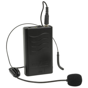 QTX VHF NECKBAND AND BELTPACK FOR QR PA UNITS 175.0MHz