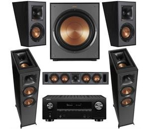 Klipsch R-625FA and Denon AVCX3700H 5.1.2 Atmos Surround System
