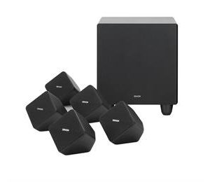 DENON SYS2020 5.1 SPEAKERS (BLACK)